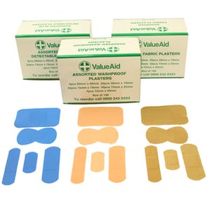 Value Aid Assorted Sterile Plasters