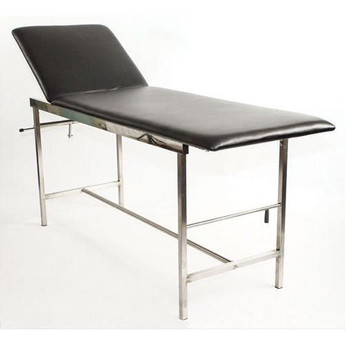 Treatment Couch with Roll Holder