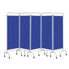 Sunflower 5 Panel Screen With Disposable Curtains