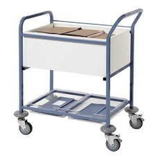Sunflower Records Trolley With Open Top