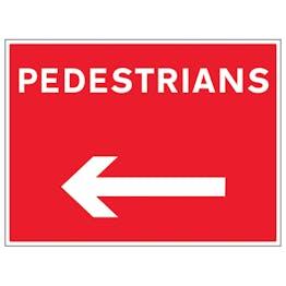 Pedestrians Arrow Left