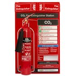 CO2 Fire Extinguisher Station