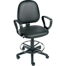 Examination Chair with Arms & Footring