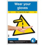 Wear Your Gloves Poster