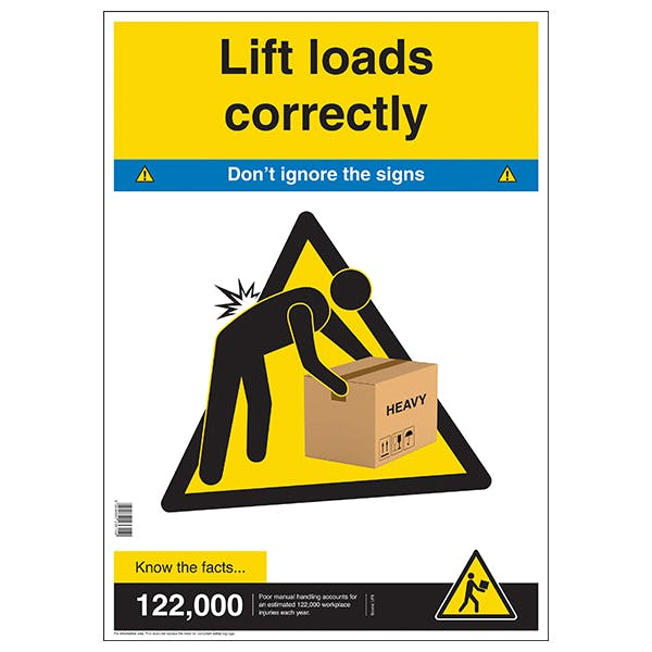Lift Loads Correctly Poster