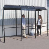 No Butts 4-Sided Smokescreen Shelter