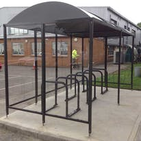 Sandford Cycle Shelter