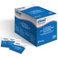 Clinell Alcohol 2% Chlorhexidine Wipes