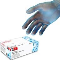 Shield Powder Free Blue Vinyl Gloves