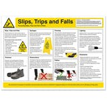Slips, Trips and Falls Poster