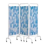 Sunflower 3 Panel Mobile Folding Hospital Screens