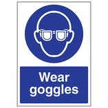 Wear Goggles - A4