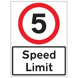 Reflective Speed Awareness Signs