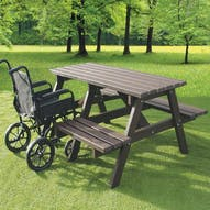 Wheelchair Access Picnic Table