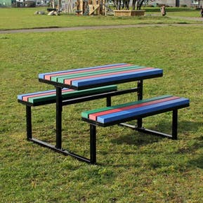 Metal / Concrete Picnic Tables