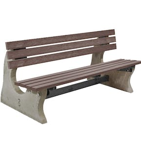 Metal / Concrete Benches & Seating