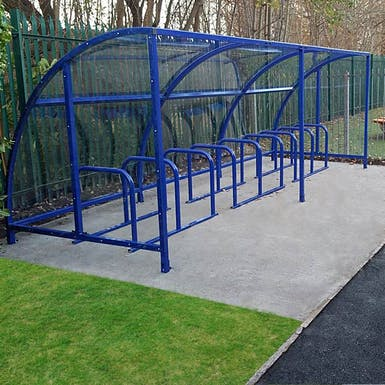 Kimmeridge Cycle Shelter