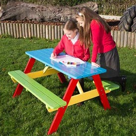 Junior Wooden Picnic Tables