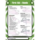 First Aid - Hands Poster