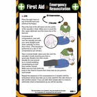 First Aid Pocket Guide - For Resuscitation