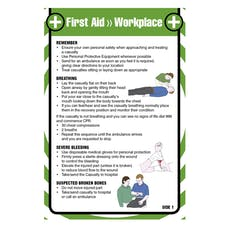 First Aid Pocket Guide - For Workplace