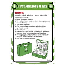 First Aid Pocket Guide - First Aid Boxes & Kits