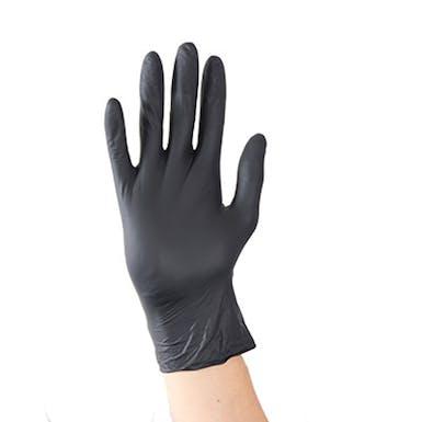 Aurelia Bold Black Powder Free Nitrile Gloves