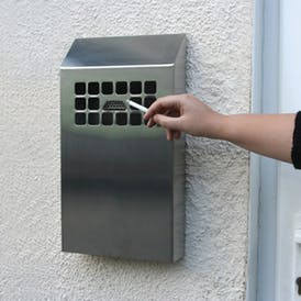Wall Mounted Cigarette Bins