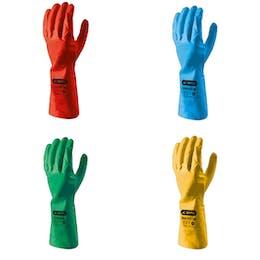 SKYTEC i-con™ Coloured Nitrile Gloves