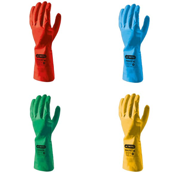 Skytec i-con™ Coloured Nitrile Gloves