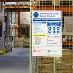 PPE & Hi-Vis Safety Stations