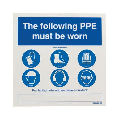 General PPE Label Station