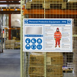PPE Safety Stations