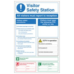 Visitor Safety Station