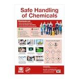COSHH Safe Handling of Chemicals Poster