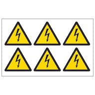 Electrical Hazard Symbols