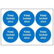 Keep Locked Shut Symbols