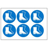 Safety Boots Symbols