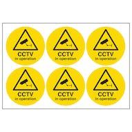 CCTV In Operation Symbols