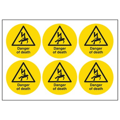 Danger Of Death Symbols
