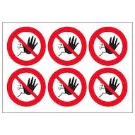 No Access Symbols
