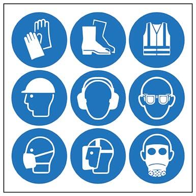 9 Mixed PPE Symbols