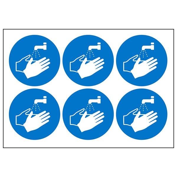 Hand Washing Symbols