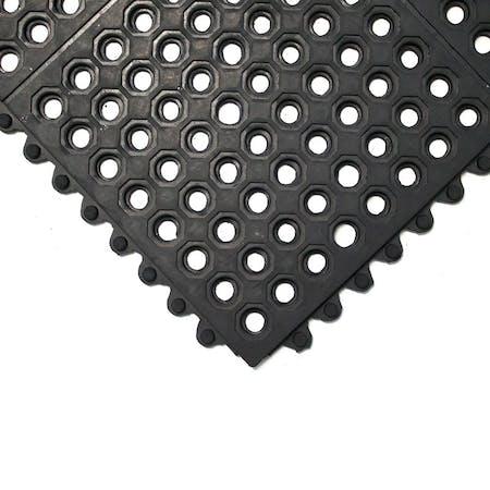 Fatigue-Step Interlocking Safety Tiles