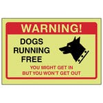 GITD Dogs Running Free, You Might Get In...