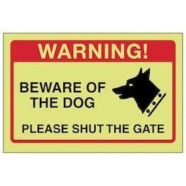 GITD Beware Of The Dog, Please Shut The Gate