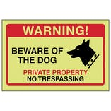 GITD Beware Of The Dog, Private Property