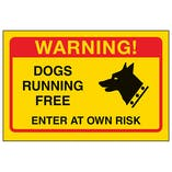 Yellow Dogs Running Free, Enter At Own Risk