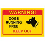 Yellow Dogs Running Free, Keep Out