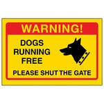 Yellow Dogs Running Free, Please Shut The Gate